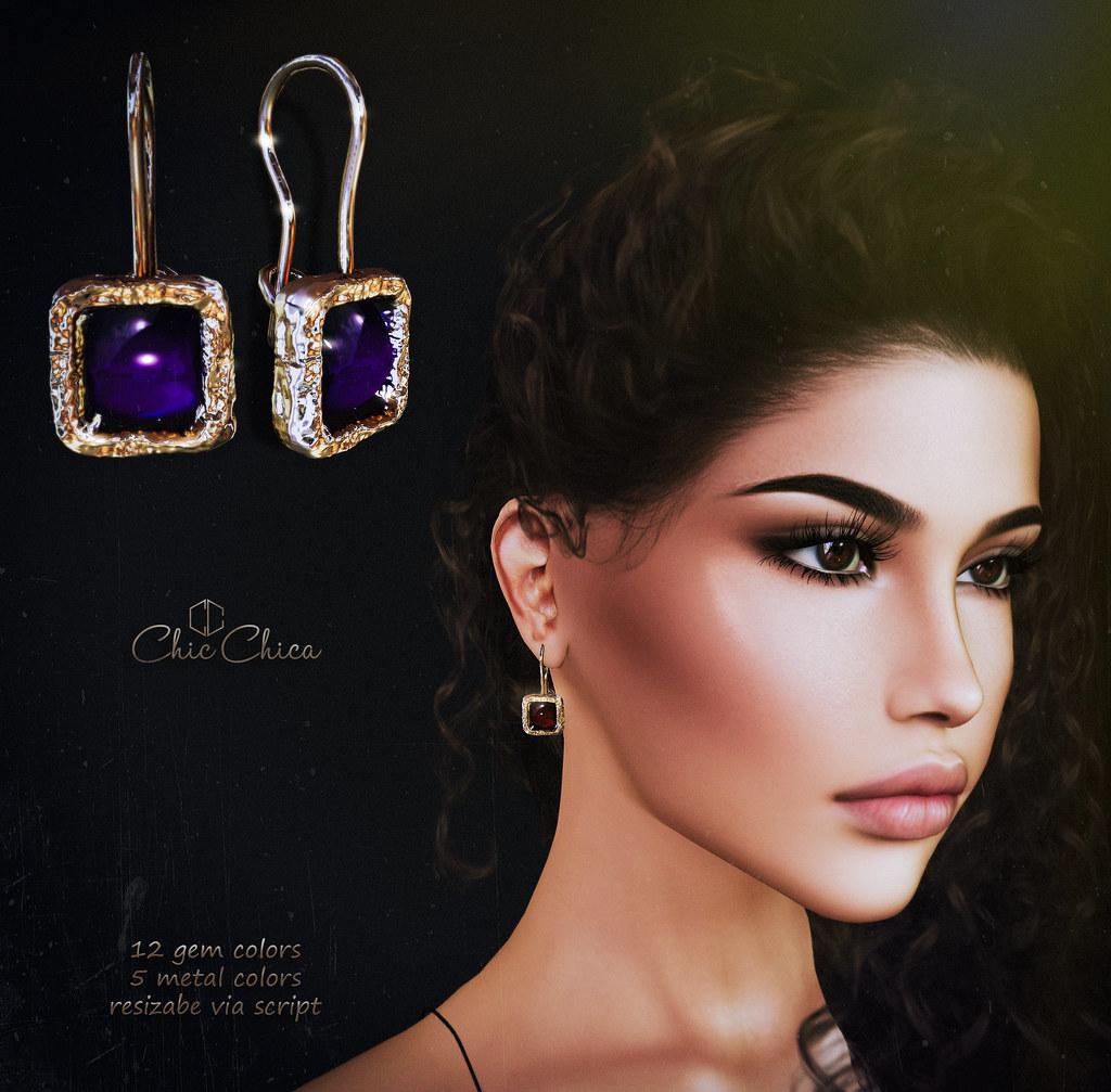 Nanda earrings by ChicChica @ Cosmopolitan