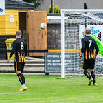 Steven Travers' free kick finds the back of the net to open the scoring for Banchory