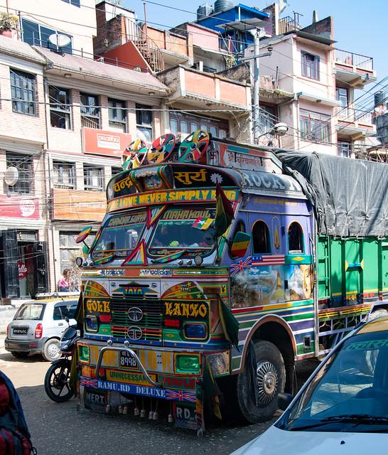 Tout à fait banal camion
