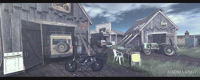 Junk in the barn