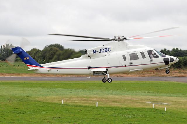 M-JCBC  -  Sikorsky S76C  -  JC Bamford Excavators  -  EGBT 14/7/19