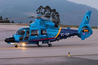 [EC-IGM]  Spain - Customs (Agencia Tributaria) Eurocopter AS-365N3 Dauphin 2 (EC-IGM)