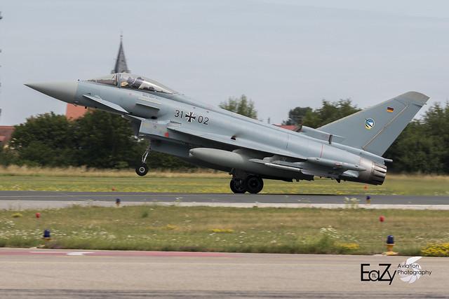31+02 German Air Force (Luftwaffe) Eurofighter Typhoon