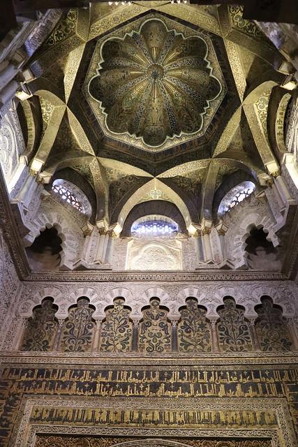 Mihrab mezquita de Córdoba