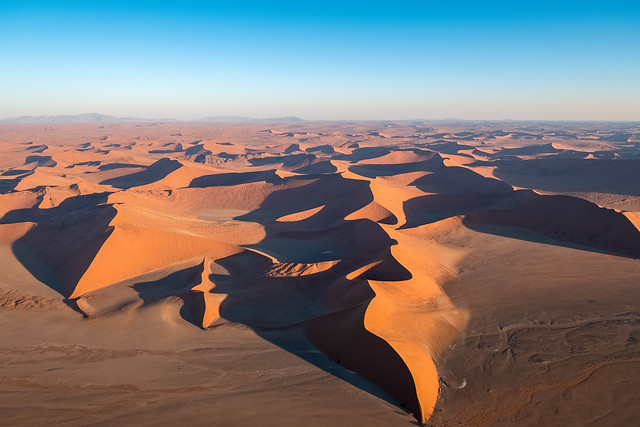 Flug über die Namib I - Flight over the Namib I