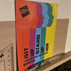 Thoroughly recommend seeing 'Get Up Stand Up Now' at Somerset House. Generations of black creative pioneers. So many great artists, musicians, creators. My mind is still filled with how much work is featured and how much more there is to explore.