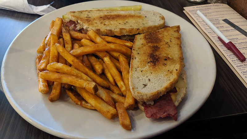 Reuben at The Mocha House, Boardman, OH