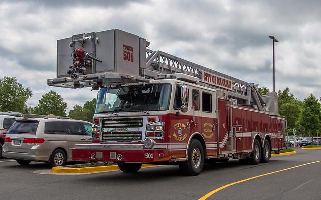 Tower 501, Manassas Vol. Fire Co.