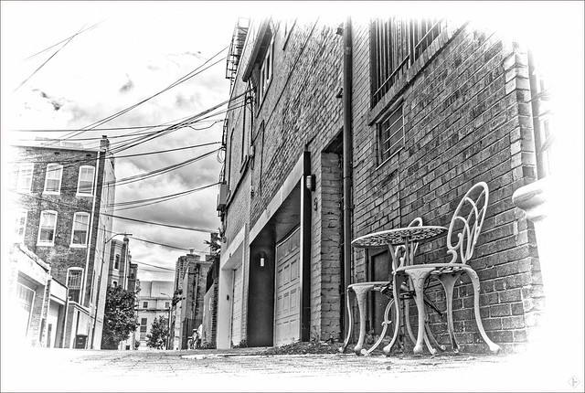 Alley Off of R Street