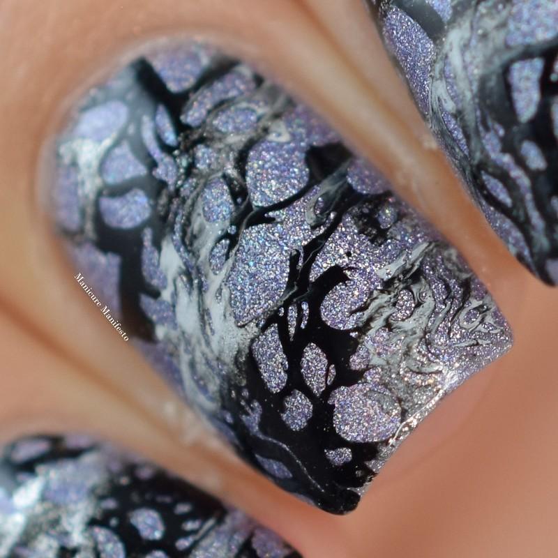 Marble Stone Nail Art