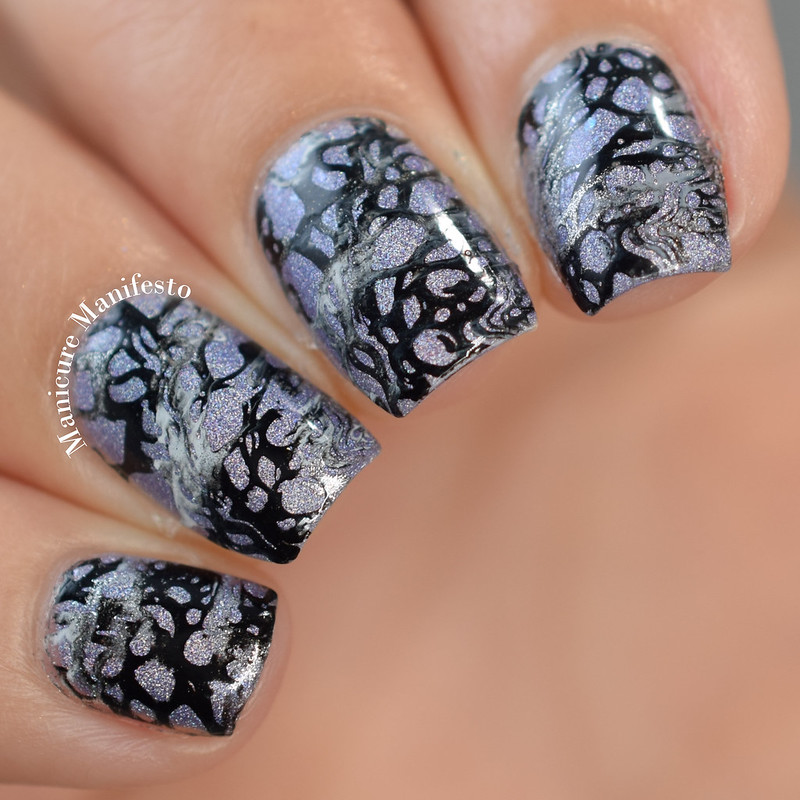 Stone Marble Nail Stamping
