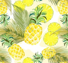 NEW! :pineapple: #pineapples #watercolors #Summer #Pattern :point_right: https://rdbl.co/2JN5xXw  #Desogn by TheChameleonart #BluedarkArt   :pineapple: #SALE! :pineapple: 20% off!!  Code ALLSET20.