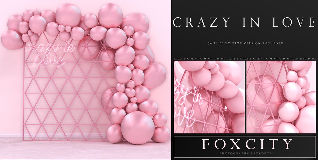 FOXCITY. Photo Booth – Crazy In Love