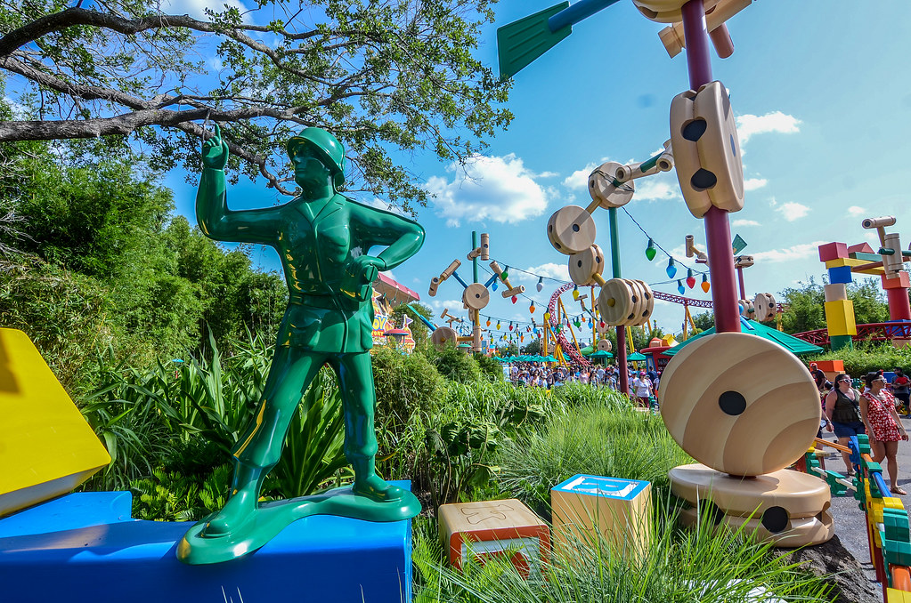 Toy Soldier Toy Story Land DHS
