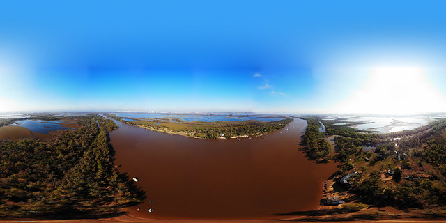 El Pimpollal - Arroyo San Marquitos - PANORAMIC 360°