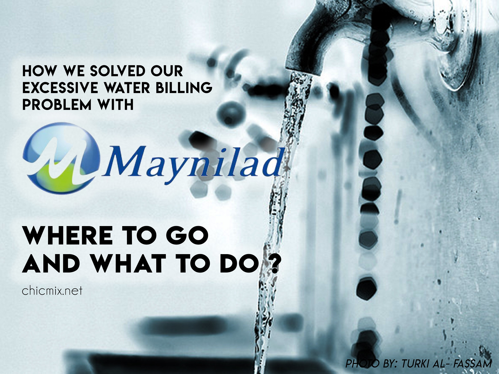 cover maynilad  or manila water excessive water billing