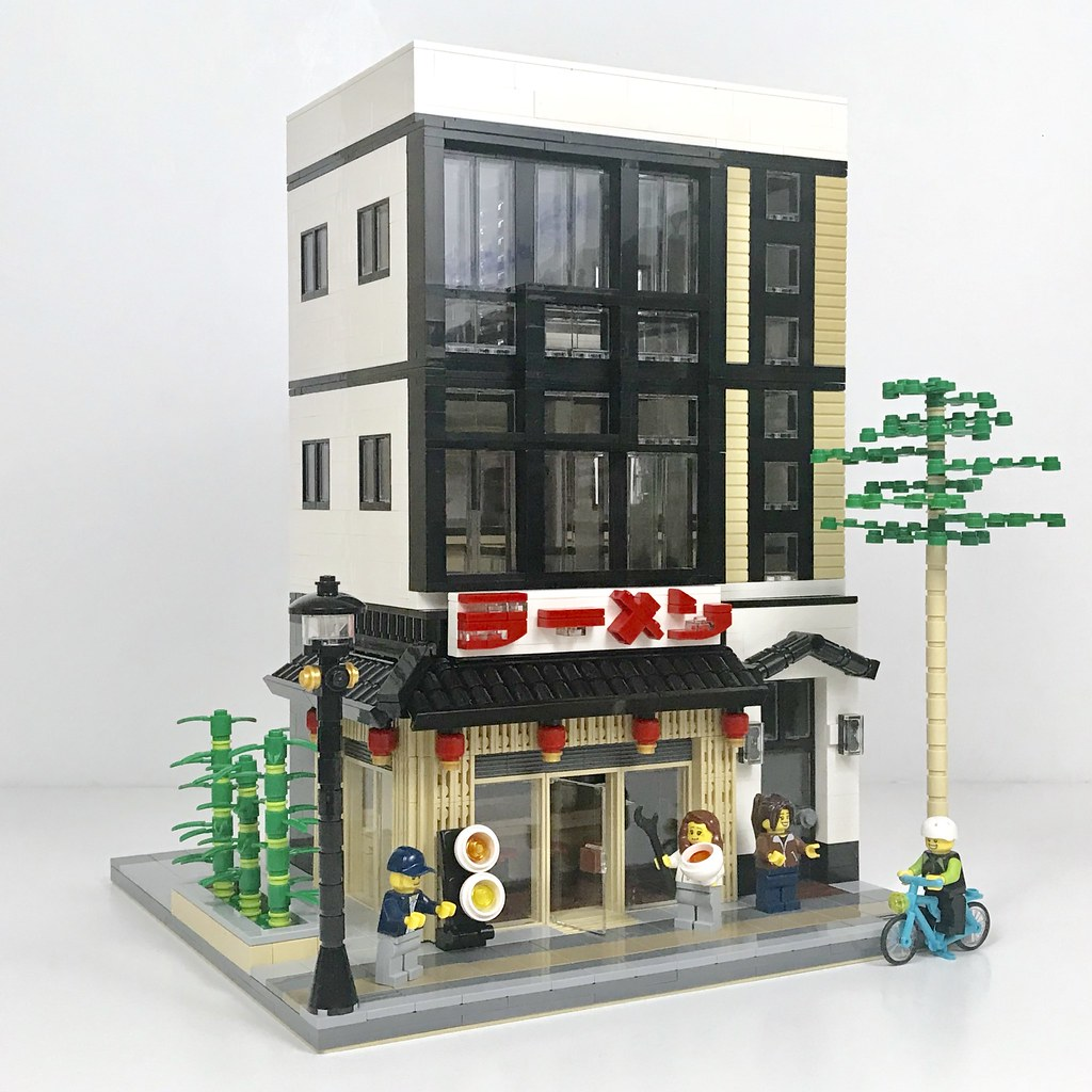 Ramen Restaurant (custom built Lego model)