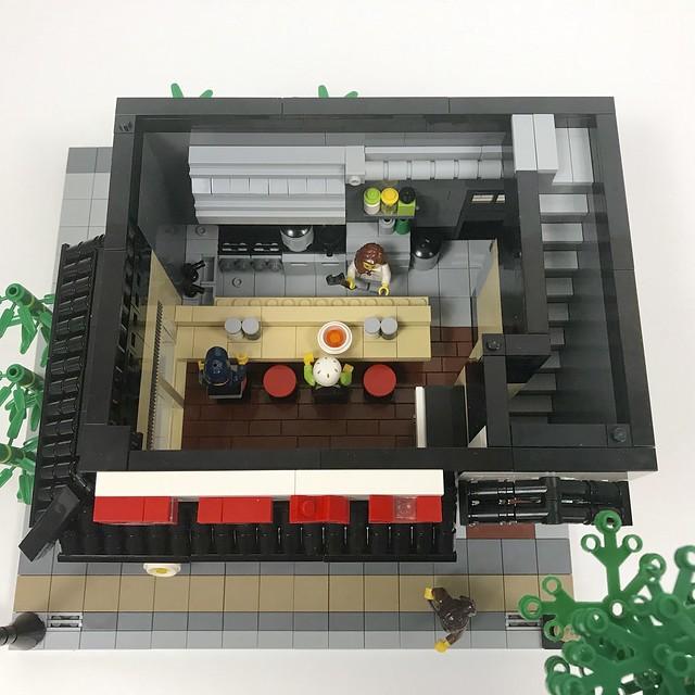 Ramen Restaurant - Interior