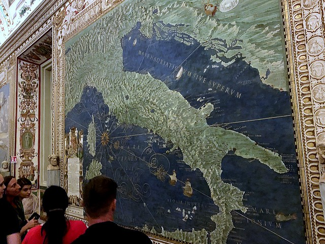 Map Gallery, the Vatican, Rome