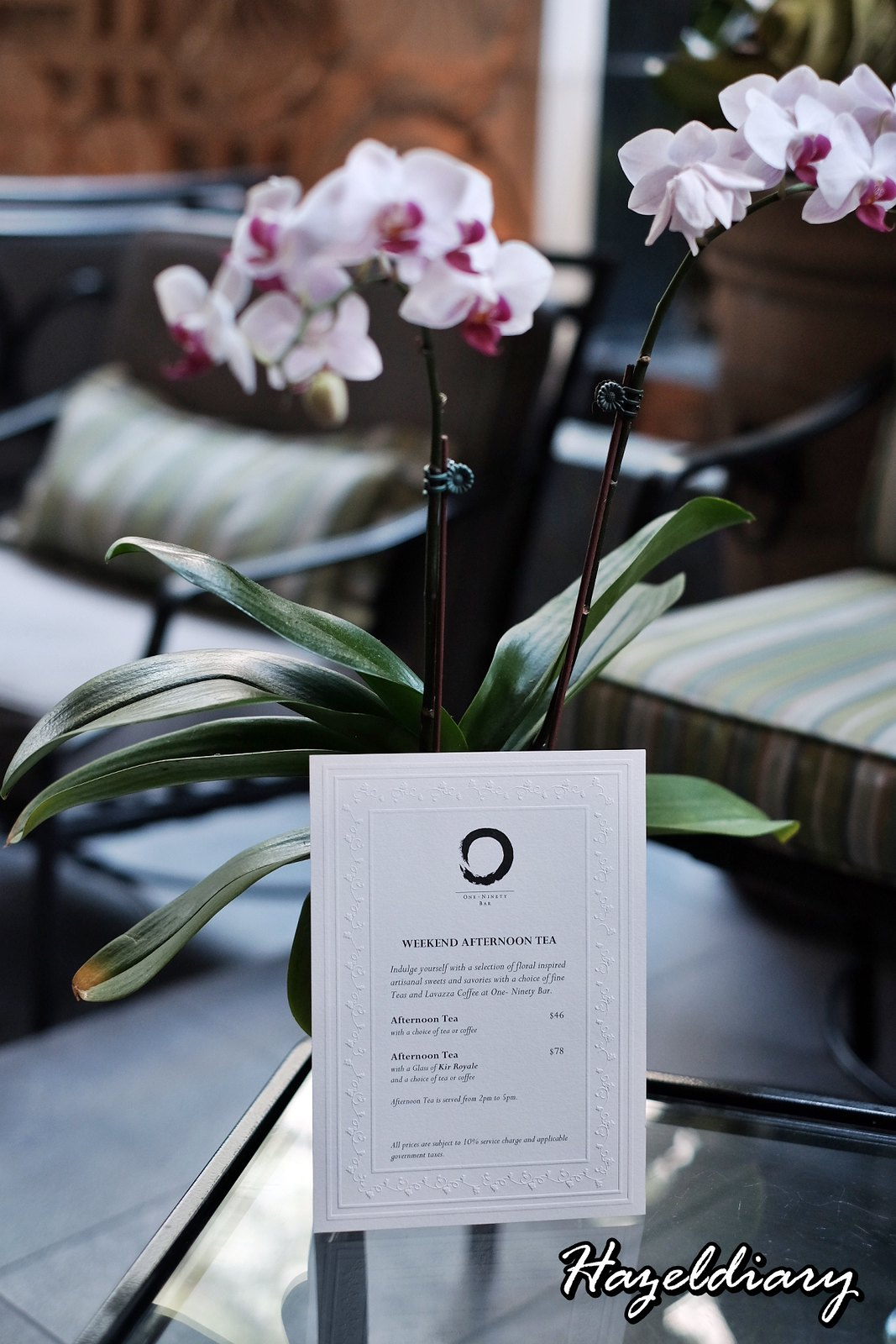 Floral Weekend High Tea-One Ninety Bar Four Seasons Hotel Singapore-6