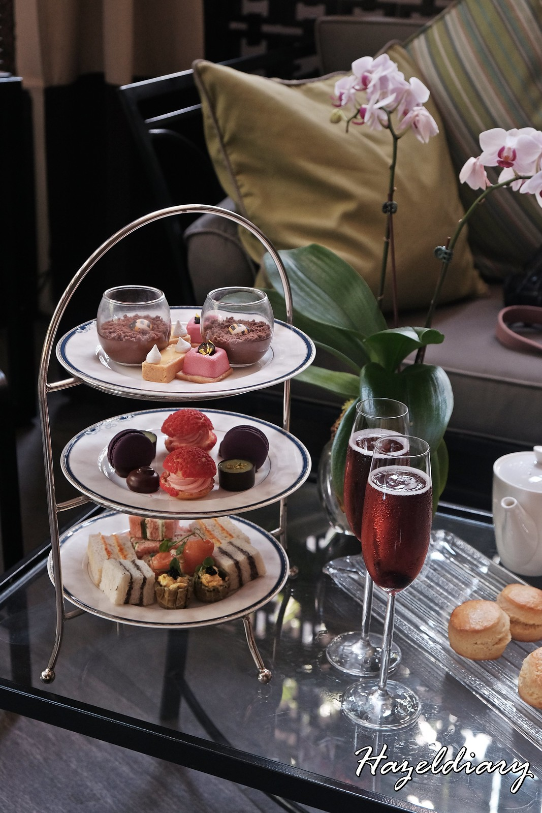 Floral Weekend High Tea-One Ninety Bar Four Seasons Hotel Singapore-3