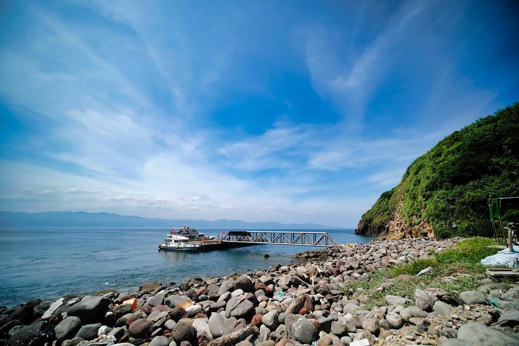 龜山島 港口