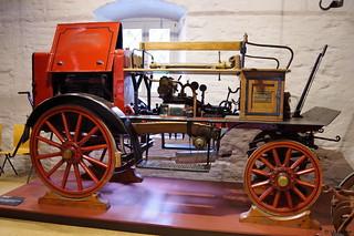 1922 Grether & Cie. Benzinmotorspritze - FF Herbolzheim _a