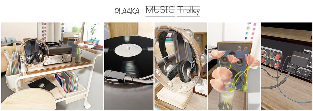 PLAAKA MUSIC Trolley