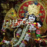 ISKCON Juhu Sringar Deity Darshan on 15th July 2019