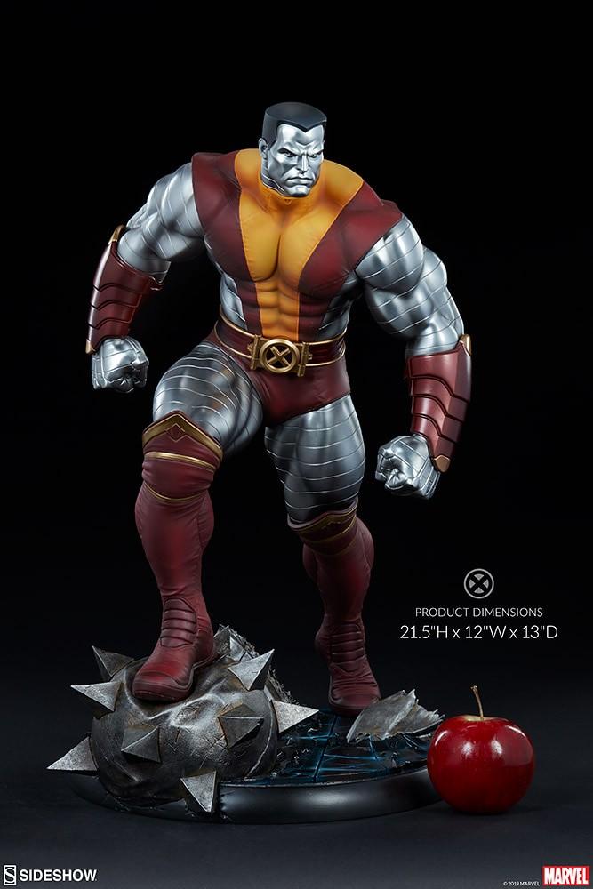Sideshow Collectibles Premium Format Figure 系列 Marvel Comics【鋼人】Colossus 1/4 比例全身雕像作品 普通版/EX版
