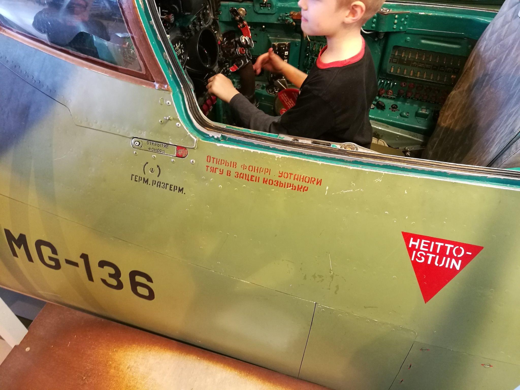 Hemkommen från semester i Finland med utflykt till Finlands Flygvapenmuseum. 48287369396_414de668f8_k