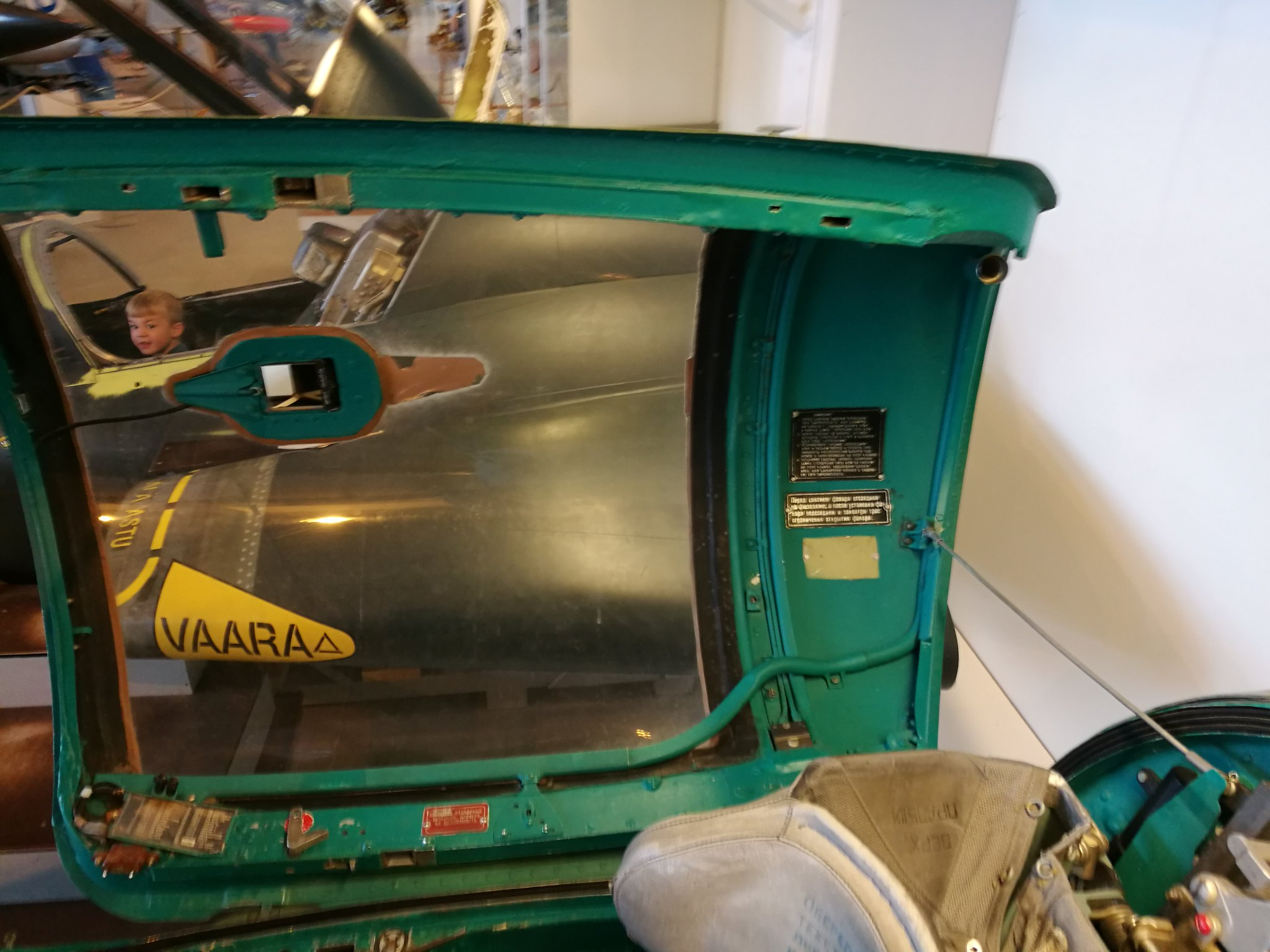 Hemkommen från semester i Finland med utflykt till Finlands Flygvapenmuseum. 48287369511_49ef407d9c_k