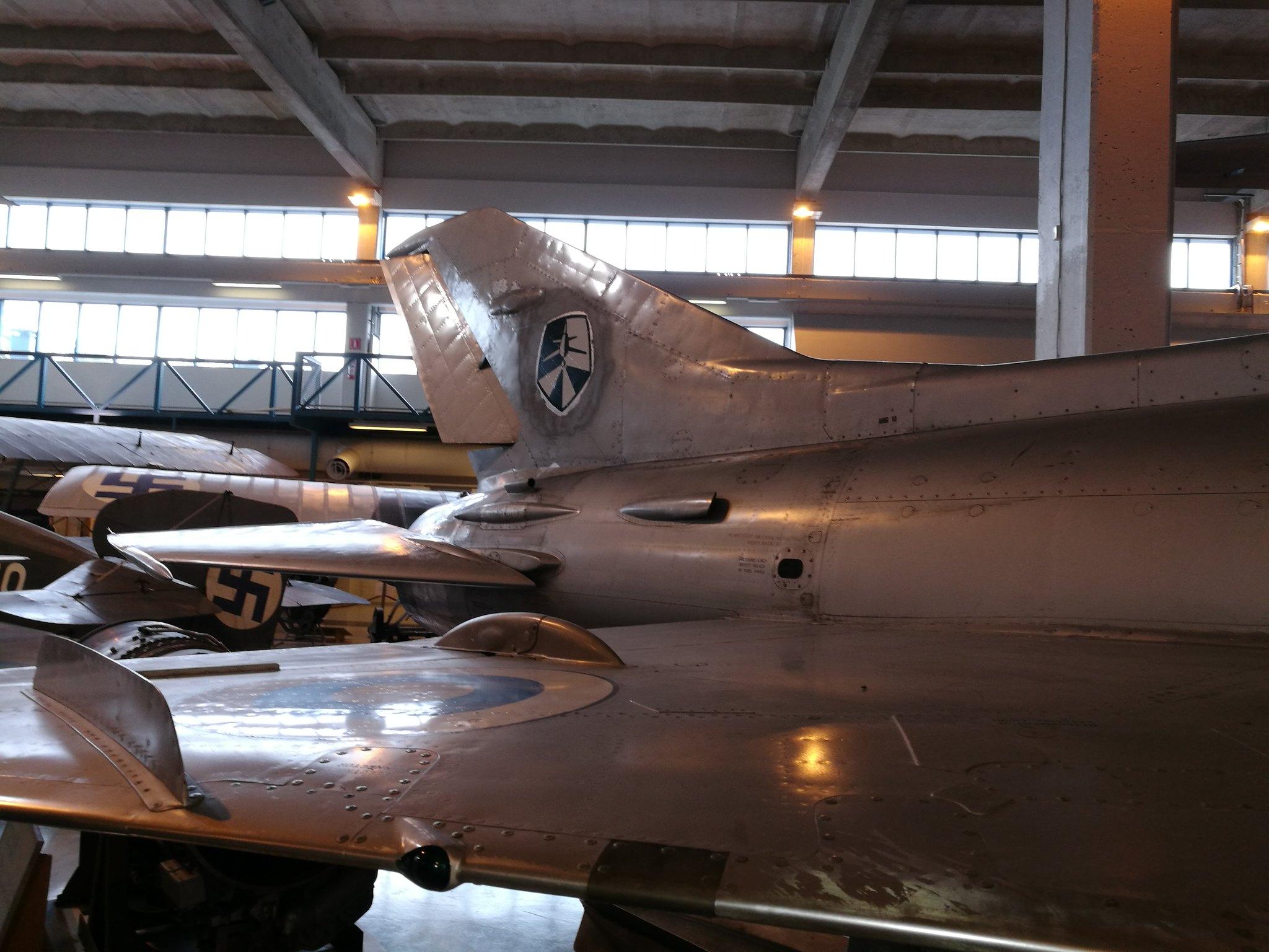 Hemkommen från semester i Finland med utflykt till Finlands Flygvapenmuseum. 48287369956_c71919fcba_k
