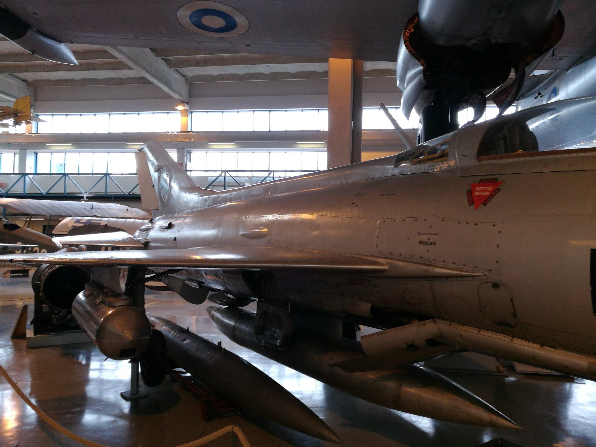 Hemkommen från semester i Finland med utflykt till Finlands Flygvapenmuseum. 48287370161_9cbb5f46e2_k