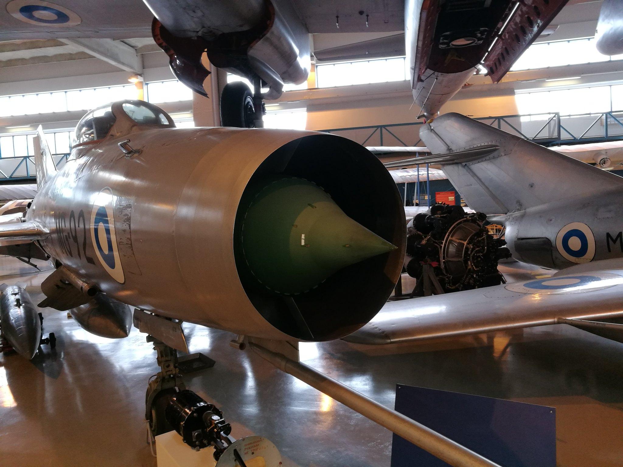 Hemkommen från semester i Finland med utflykt till Finlands Flygvapenmuseum. 48287370431_dc3d58c893_k
