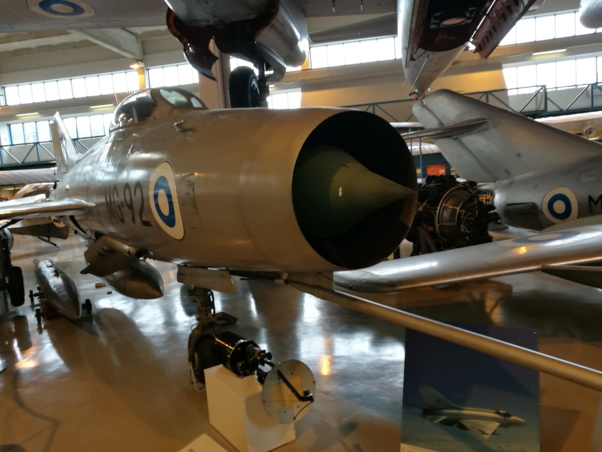 Hemkommen från semester i Finland med utflykt till Finlands Flygvapenmuseum. 48287370471_5df64936a6_k