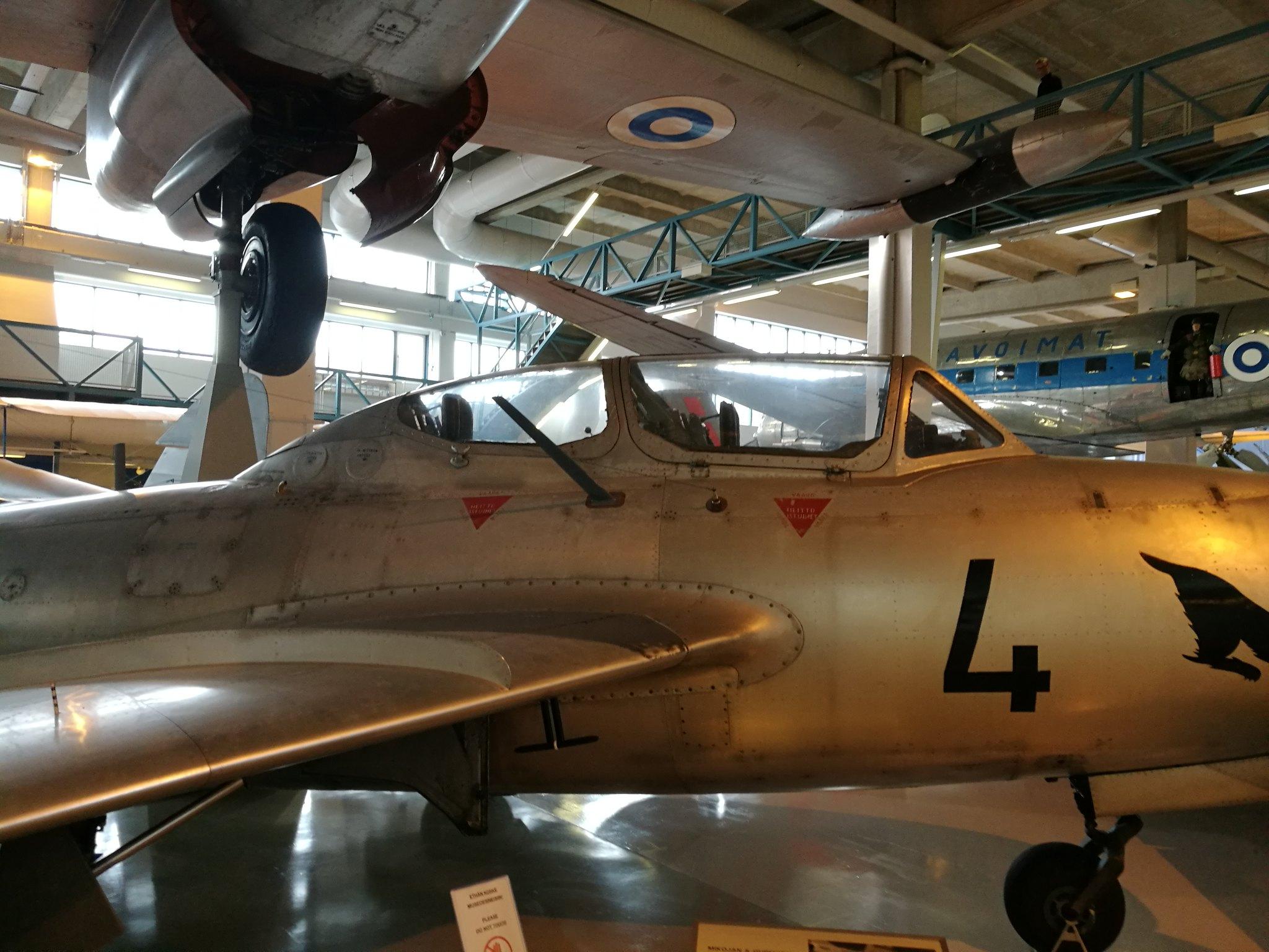 Hemkommen från semester i Finland med utflykt till Finlands Flygvapenmuseum. 48287370676_63e4c28233_k