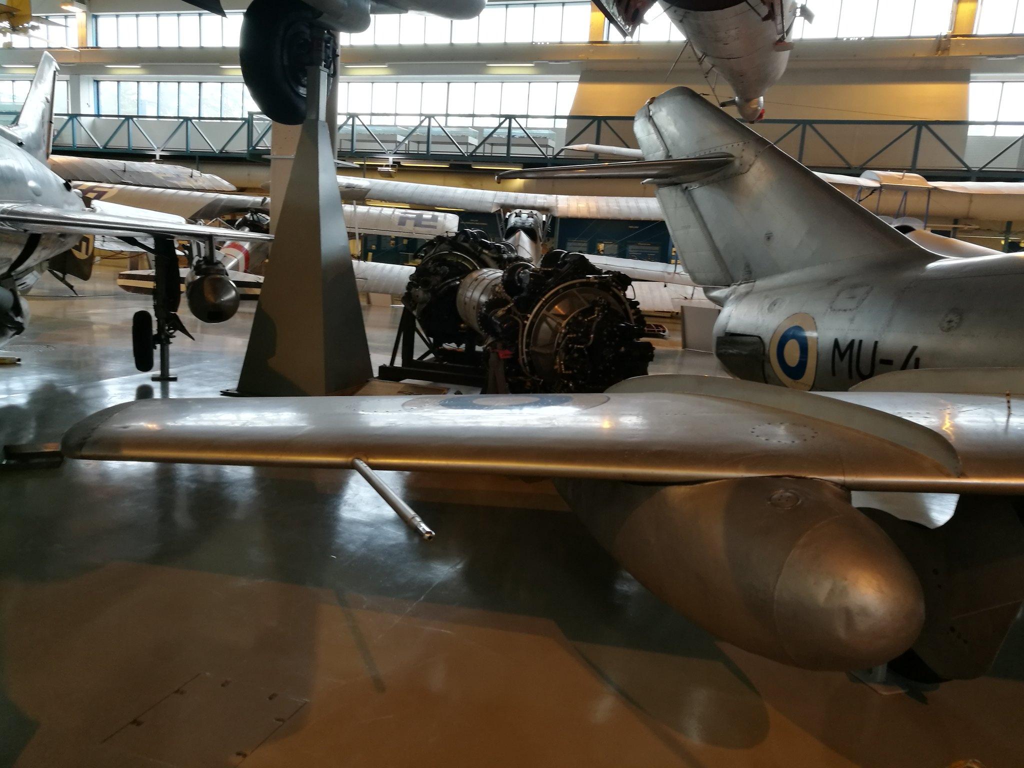 Hemkommen från semester i Finland med utflykt till Finlands Flygvapenmuseum. 48287370816_74fef5885e_k