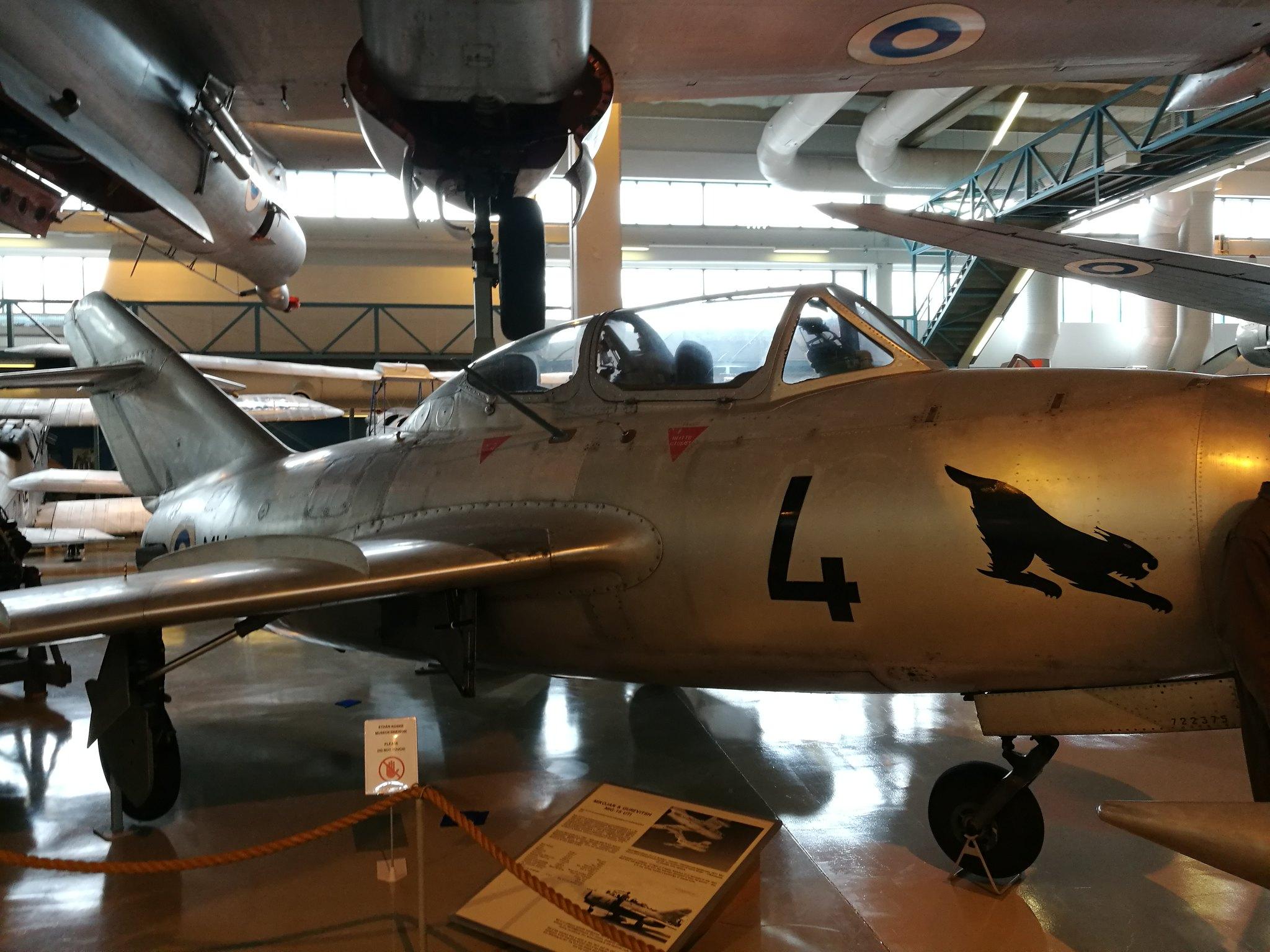 Hemkommen från semester i Finland med utflykt till Finlands Flygvapenmuseum. 48287370841_62a297f484_k
