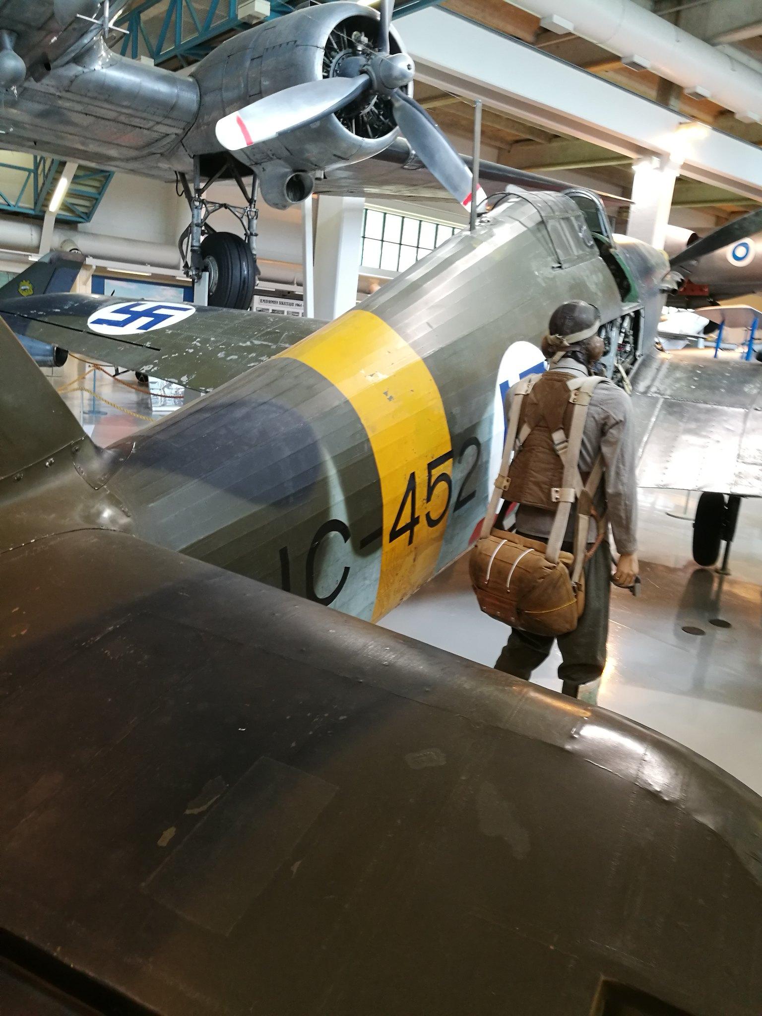 Hemkommen från semester i Finland med utflykt till Finlands Flygvapenmuseum. 48287385246_0d2b5b8f0f_k