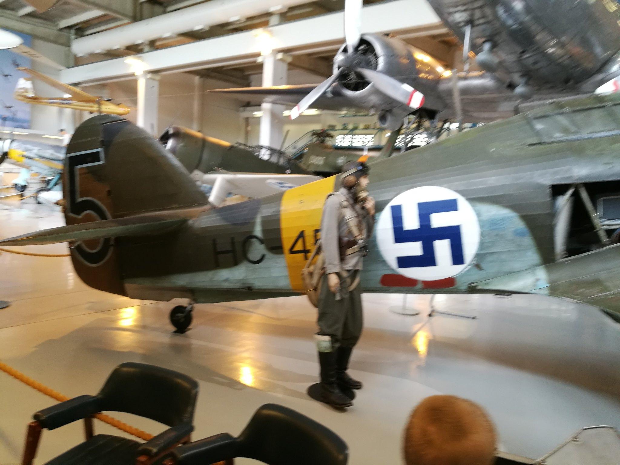 Hemkommen från semester i Finland med utflykt till Finlands Flygvapenmuseum. 48287385851_20b1ca132d_k
