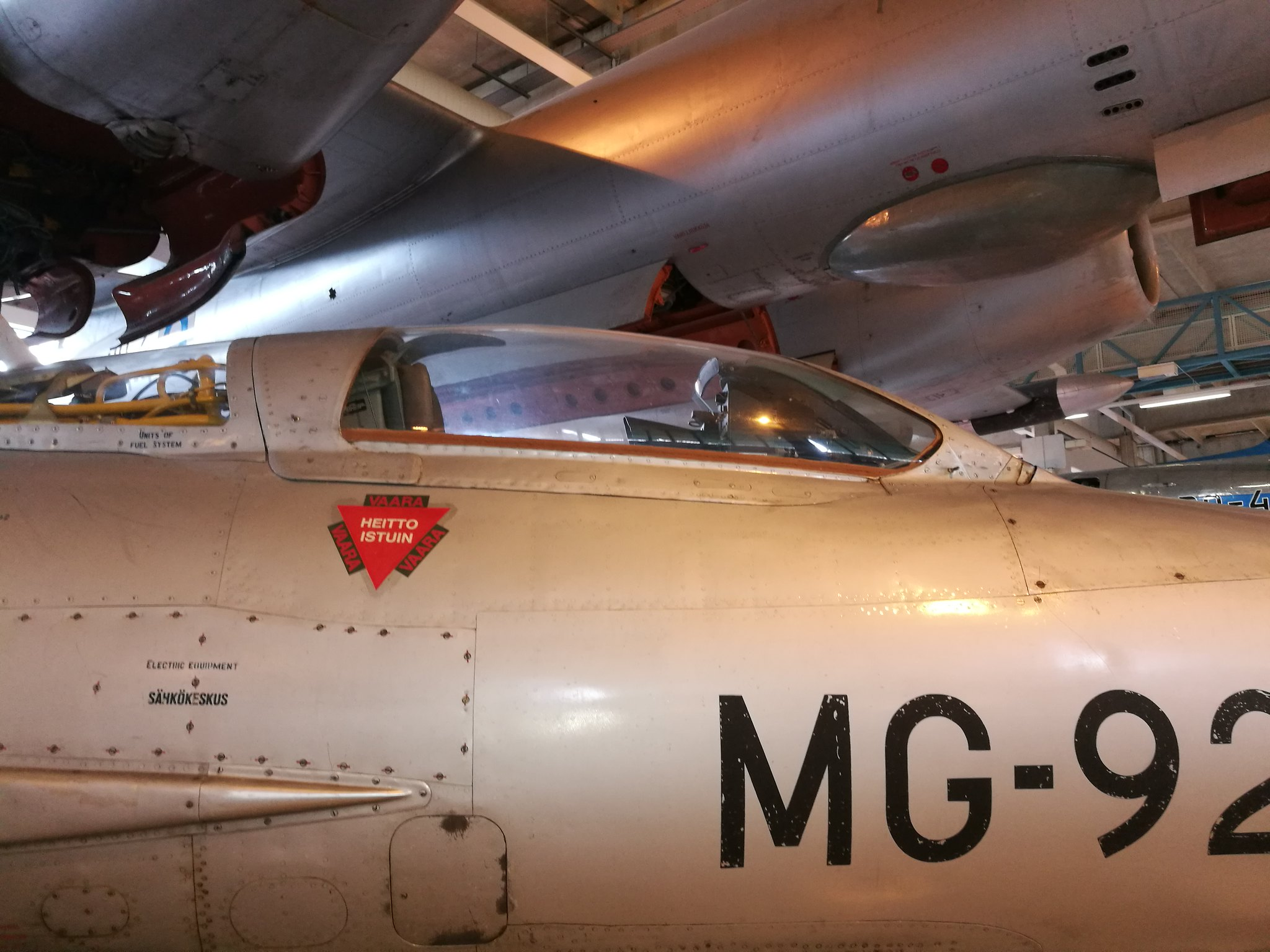 Hemkommen från semester i Finland med utflykt till Finlands Flygvapenmuseum. 48287468612_ee2dbefe19_k