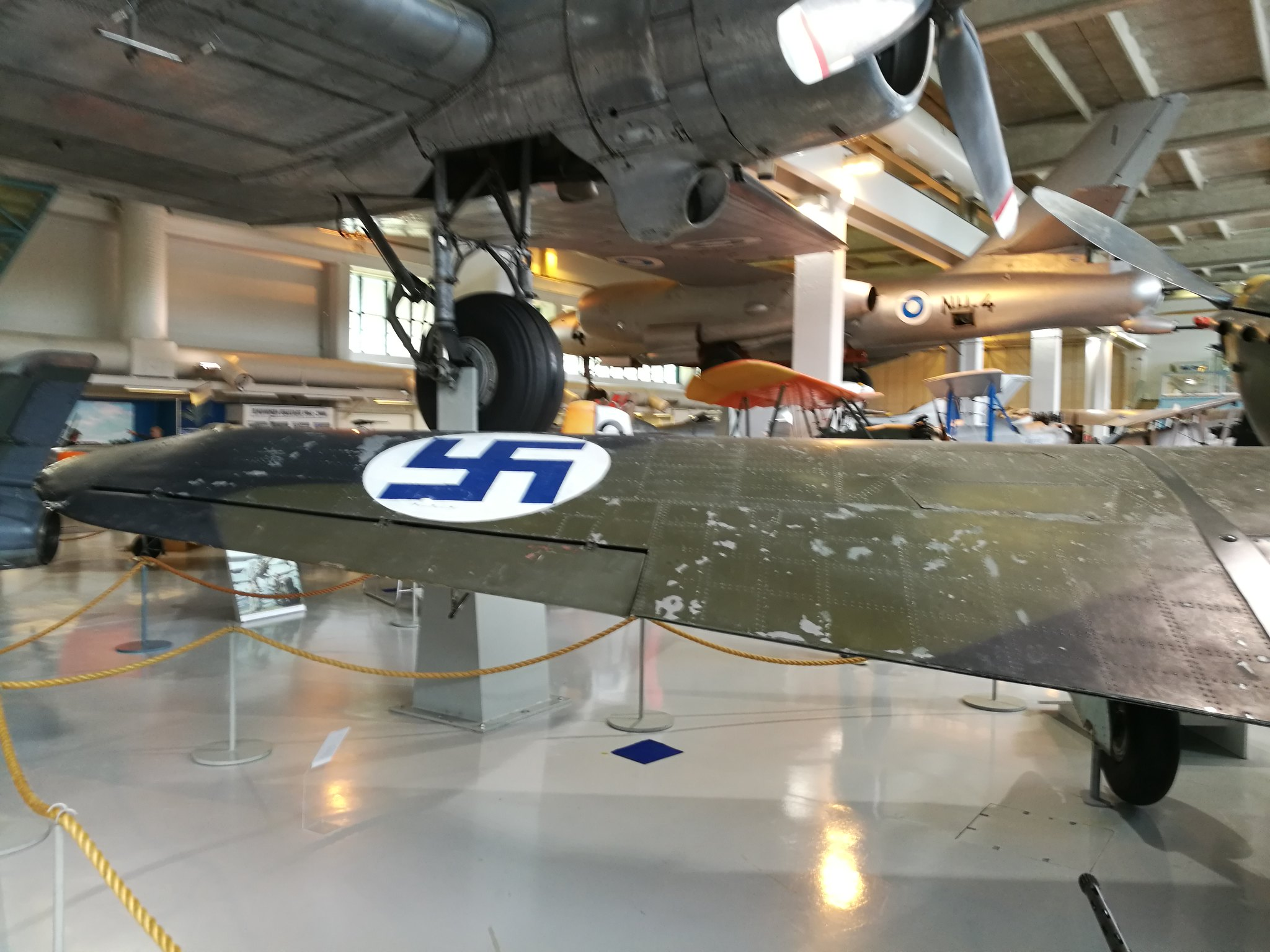 Hemkommen från semester i Finland med utflykt till Finlands Flygvapenmuseum. 48287484002_52c26316ff_k