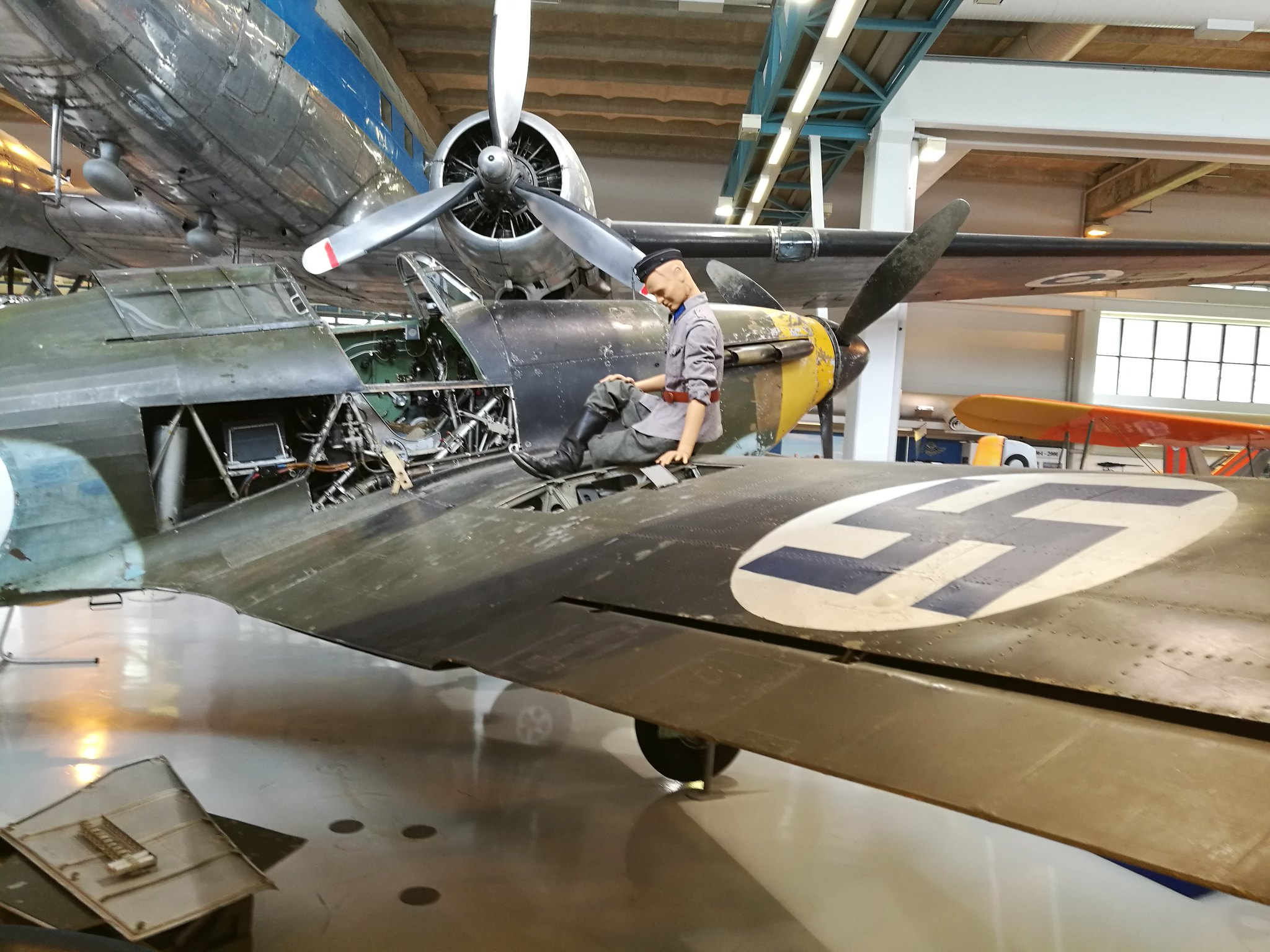 Hemkommen från semester i Finland med utflykt till Finlands Flygvapenmuseum. 48287484262_204cbfda46_k