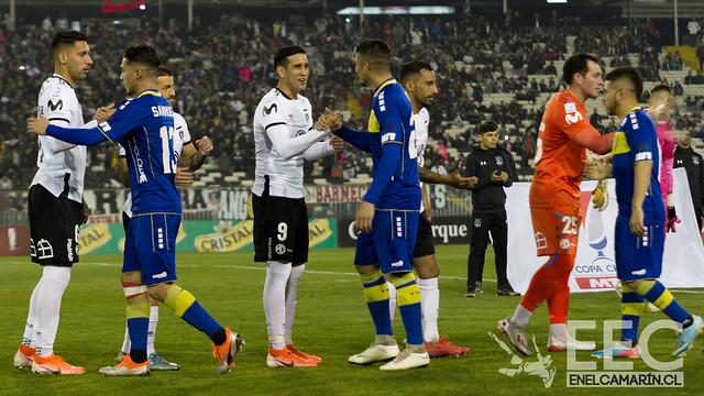 Colo Colo 3 - A.C. Barnechea 0