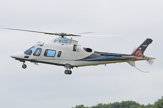 G-WIZG  -  Agusta A109E Power  -  Private  -  EGBT 14/7/19