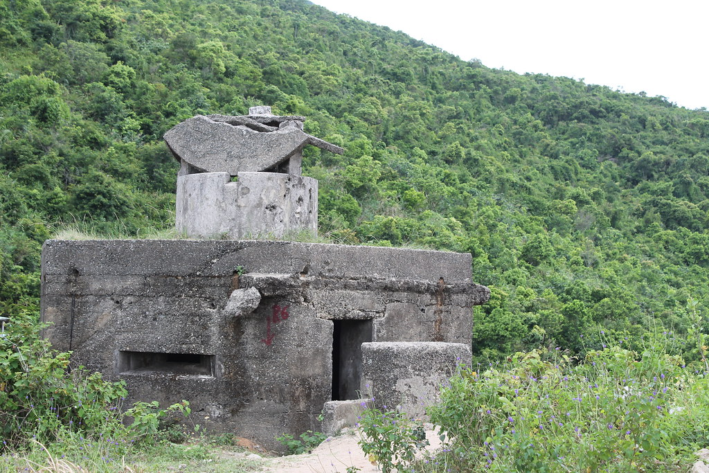 Old bunker from the Vietnam war