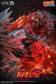 「新增販售資訊!」木葉紅色猛獸的最終體術奧義「夜凱」超魄力再現!! Infinity Studio Battle Series《火影忍者疾風傳》八門凱 VS 六道宇智波斑 Eight Gate Guy VS Six Path Madara 全身場景雕像作品