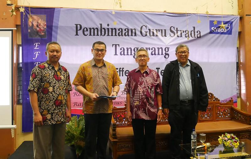 Pembinaan Guru Strada Cabang Tangerang