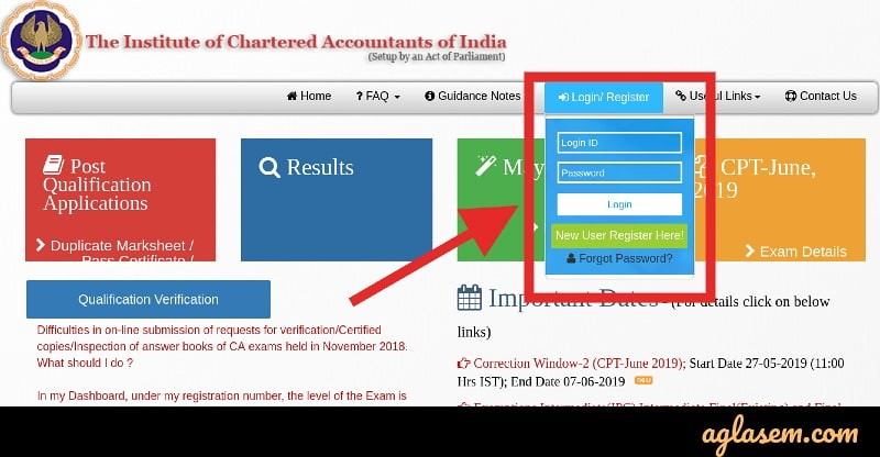 CA CPT Result 2019 (Announced) - Check Topper, ICAI Result